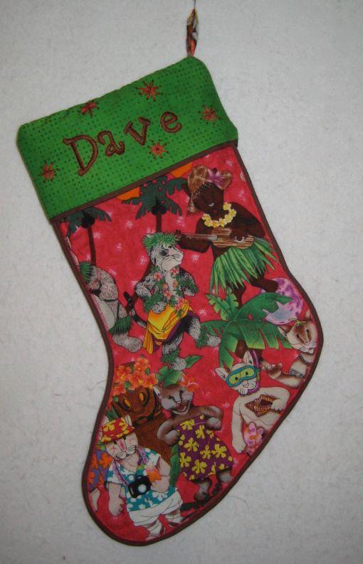 Dave stocking