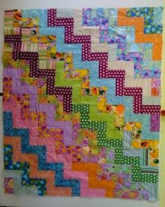 The rectangular atom : zig zag rail fence quilt pattern - Adamdwight.com