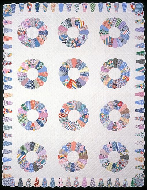 """Dresden Plate, 1992 57"""" x 73"""""""