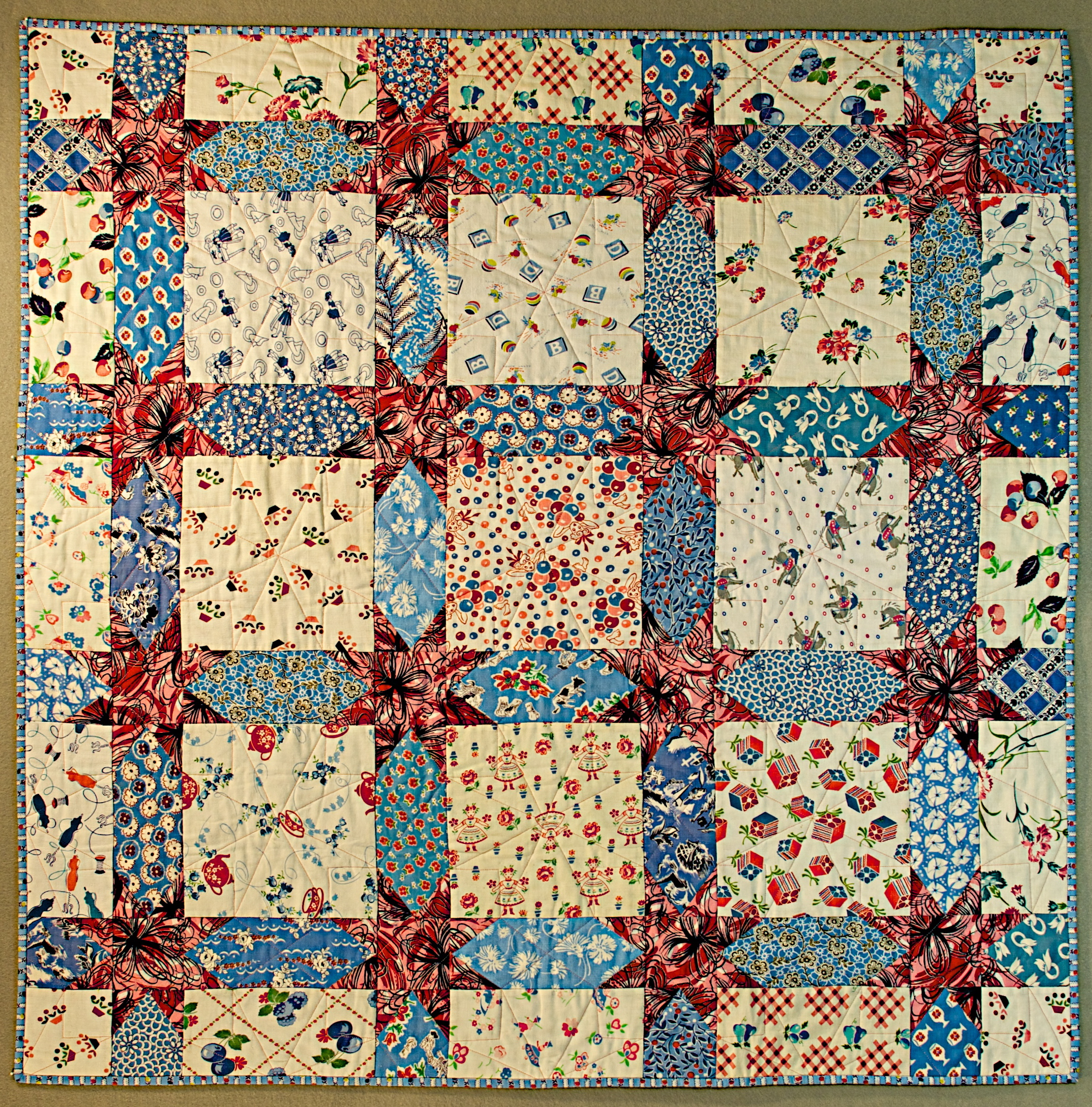 feed sack quilt | Susan Dague Quilts : feedsack quilts for sale - Adamdwight.com