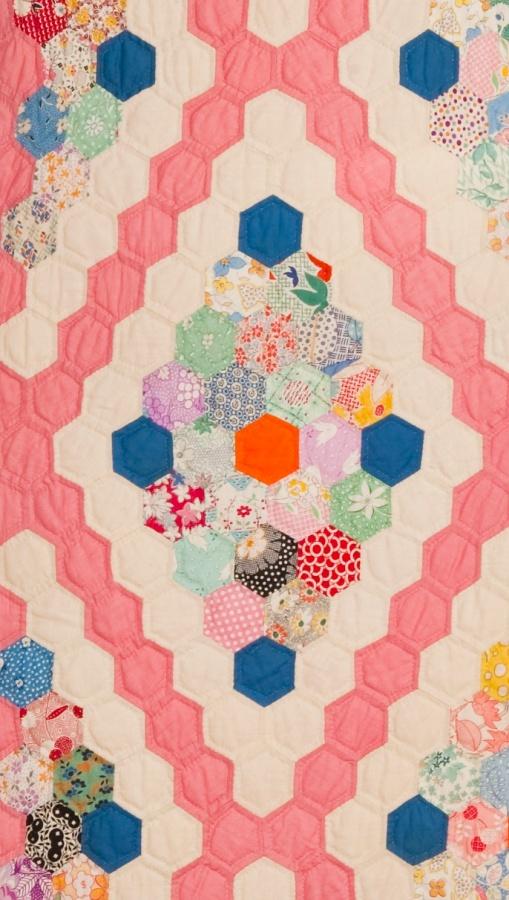 Flower Garden in Diamonds, detail