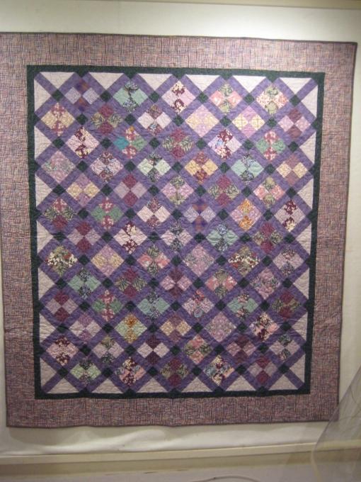 "Lavender Garden I, 2004 58"" x 65"""