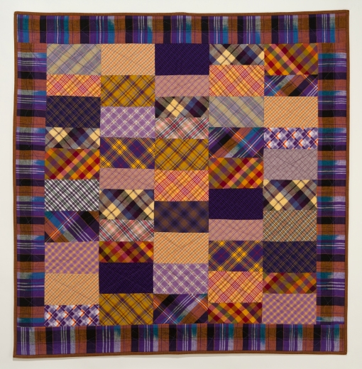 "All Plaids, 2009 42"" x 44"" Photography by Sibila Savage"