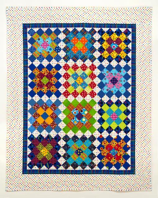 """Bright Squares, 2012 47"""" x 58.5"""""""