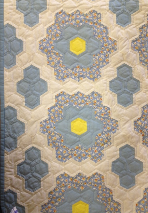 Vintage quilt top, circa 1931 Quilted by Marty Suess