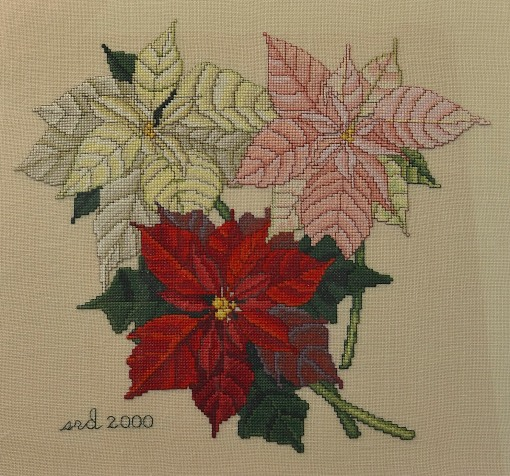 Poinsettia_x-stitch