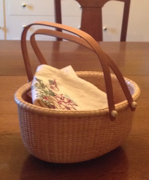 One lonely basket