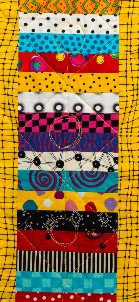 Happy Quilt II, detail