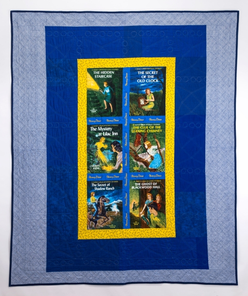 Nancy Drew Quilt--Back