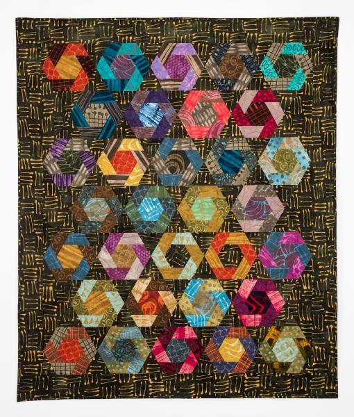 Woven Hexagons, 2016